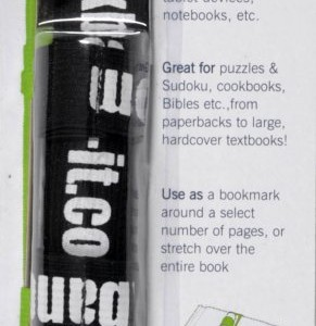 black book band-it with logo in pkg